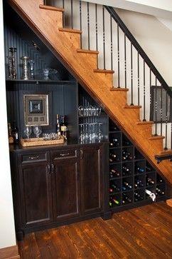 Adega embaixo escada 5 l janu rio for Mini bar debajo de escaleras