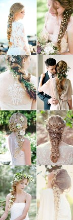 Braids-wedding-hairstyles-with-fresh-flowers
