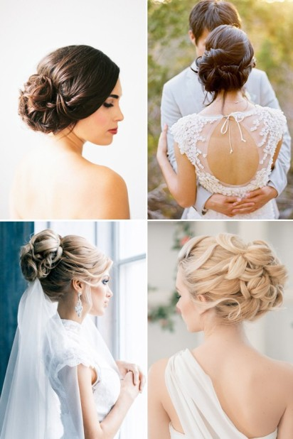 chic-updo-bridal-updo-hairstyles