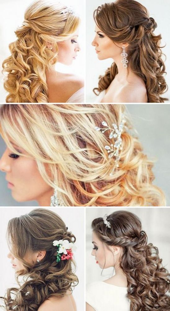 Half-Up-Half-Down-Wedding-Hairstyles