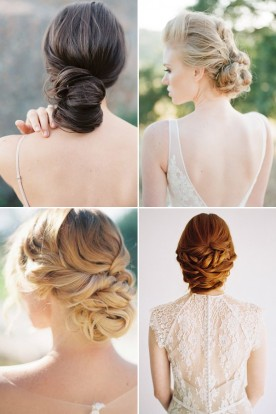 Low-Chignon-Wedding-Hairstyles