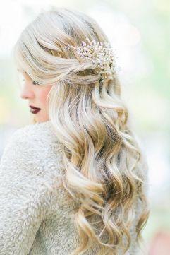wavy-wedding-hair-via-Mikaela-Marie-Photography